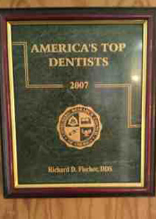 America's Top Dentists 2007 Award