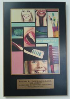 Top Dentists 2005 award