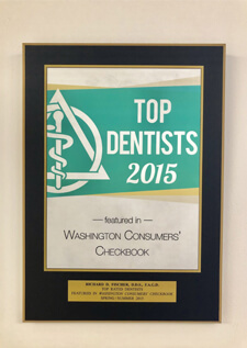Top Dentists 2015 award
